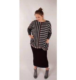Lousje & Bean L&B- Jack Sweater Grey Stripes