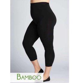C'est Moi Bamboo Crop Legg- PLUS SIZE