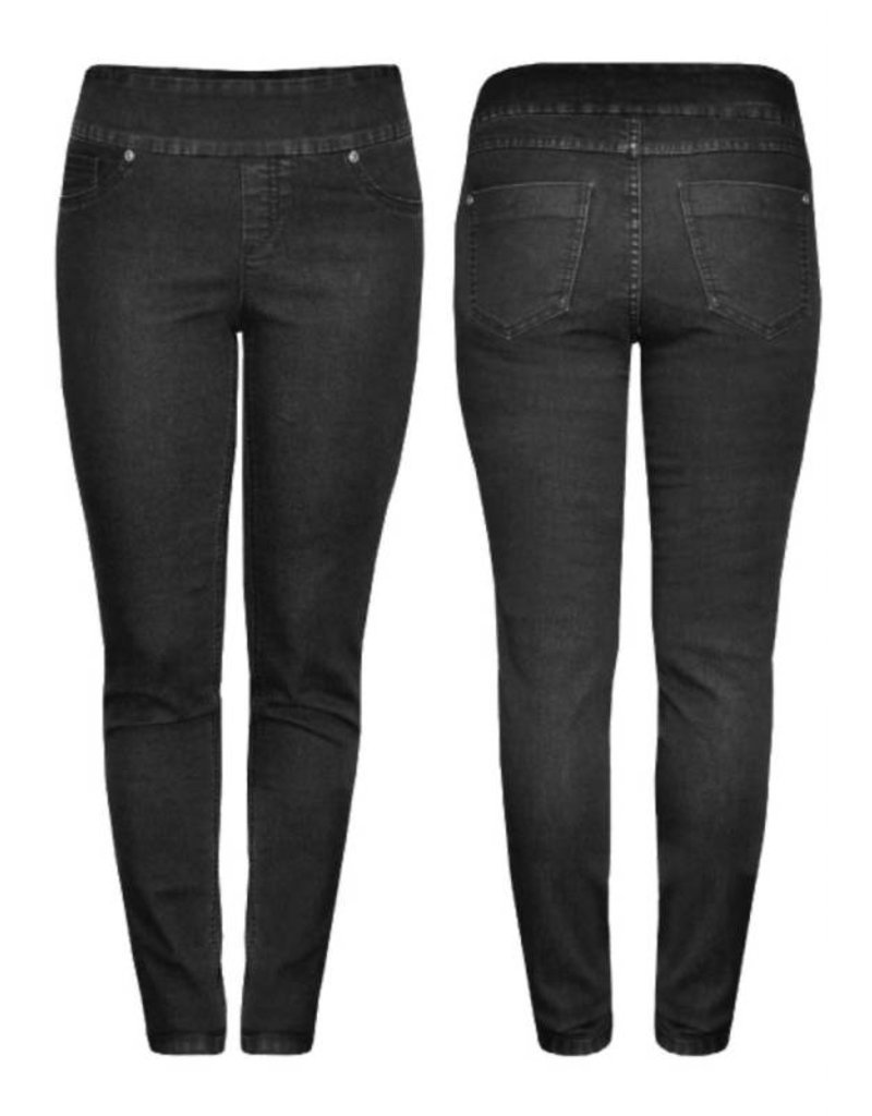 Up Up! Jeans- Black Denim