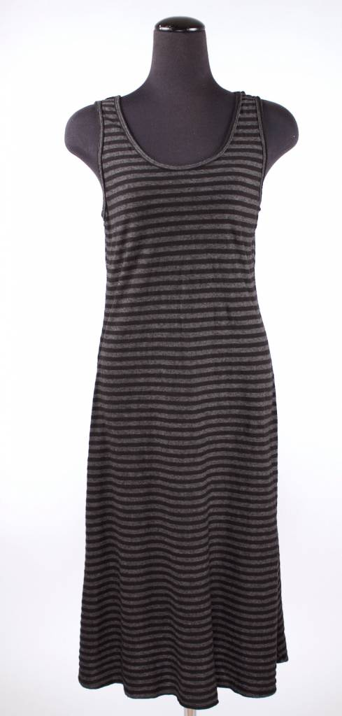Cut Loose Cut Loose- Tank Dress Stripe|Blk