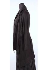 Cut Loose Cut Loose- Knit/Linen Jacket|Blk