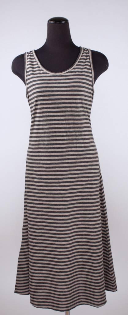 Cut Loose Cut Loose- Tank Dress Stripe|Lentil