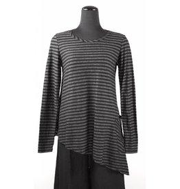 Cut Loose Cut Loose- Asymmetrical Tunic|Blk-Size S