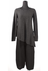Cut Loose Cut Loose- Asymmetrical Tunic|Blk
