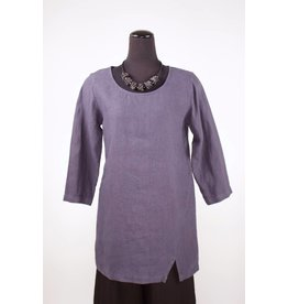 Cut Loose Cut Loose- Split Tunic|Anthracite