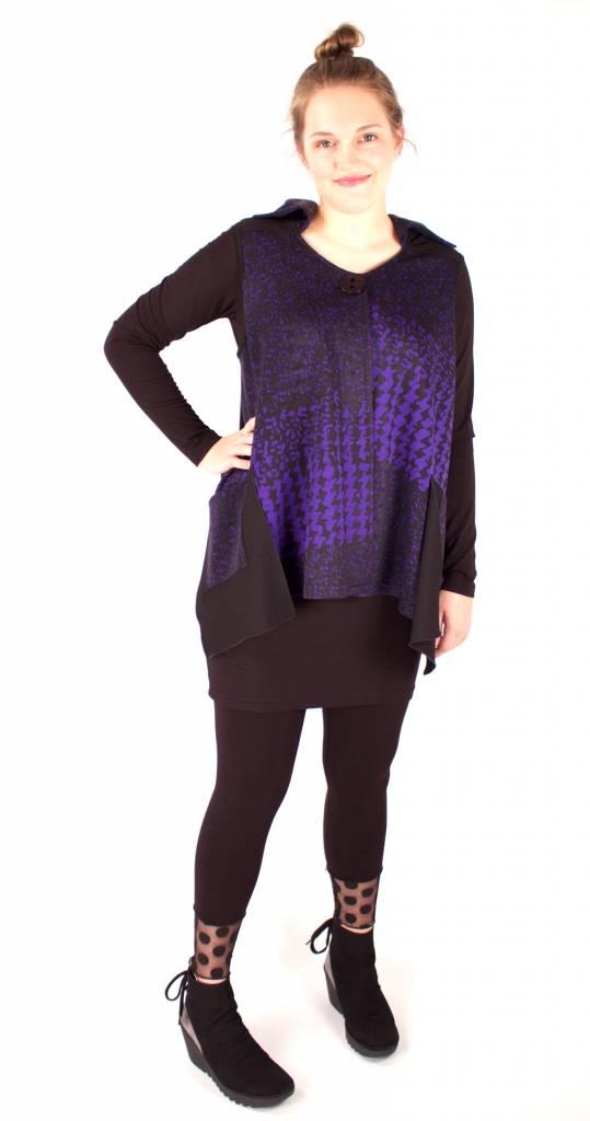 Lousje & Bean L&B- Tuck Vest|Purple