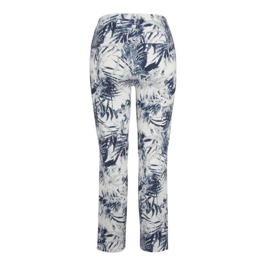 Up Up! Pants- Palm Blue Illusion