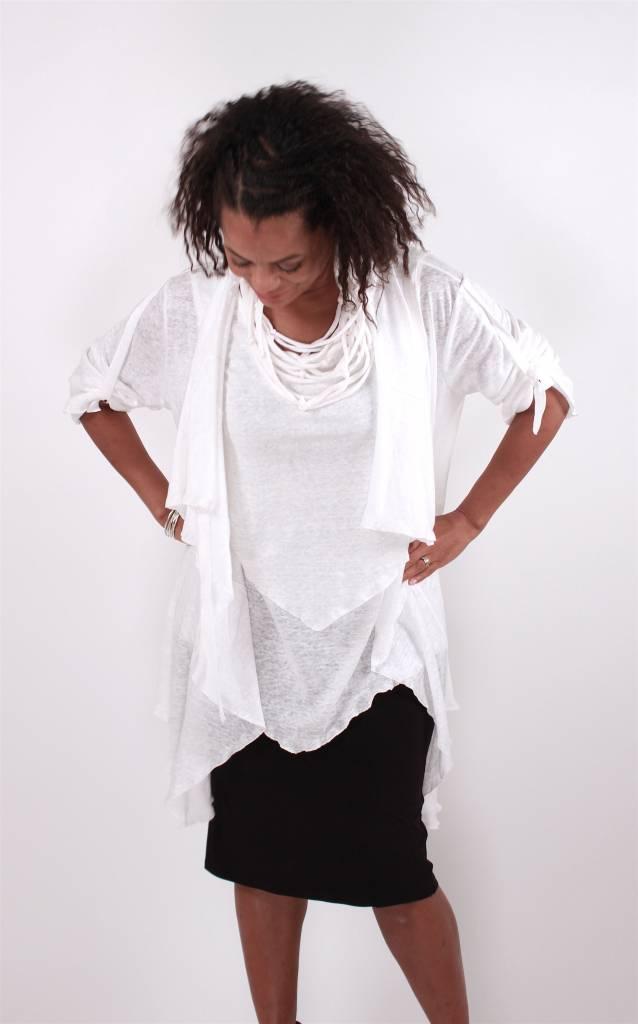 Lousje & Bean L&B- Lily Sweater White