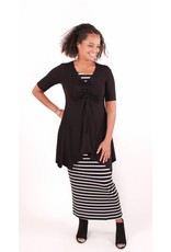 Lousje & Bean L&B- Tunnel Tunic in Black