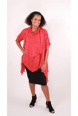 Lousje & Bean L&B- Layer Top|Red