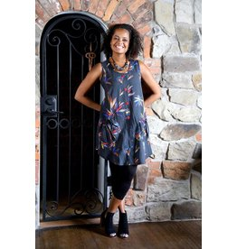 Lousje & Bean L&B- Button Tunic|Print