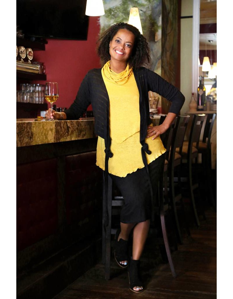 Lousje & Bean L&B- Layer Top|Mustard