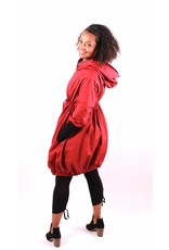 Lousje & Bean L&B- Bubble Coat in Red