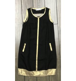 Nahlik- Black & Gold Dress