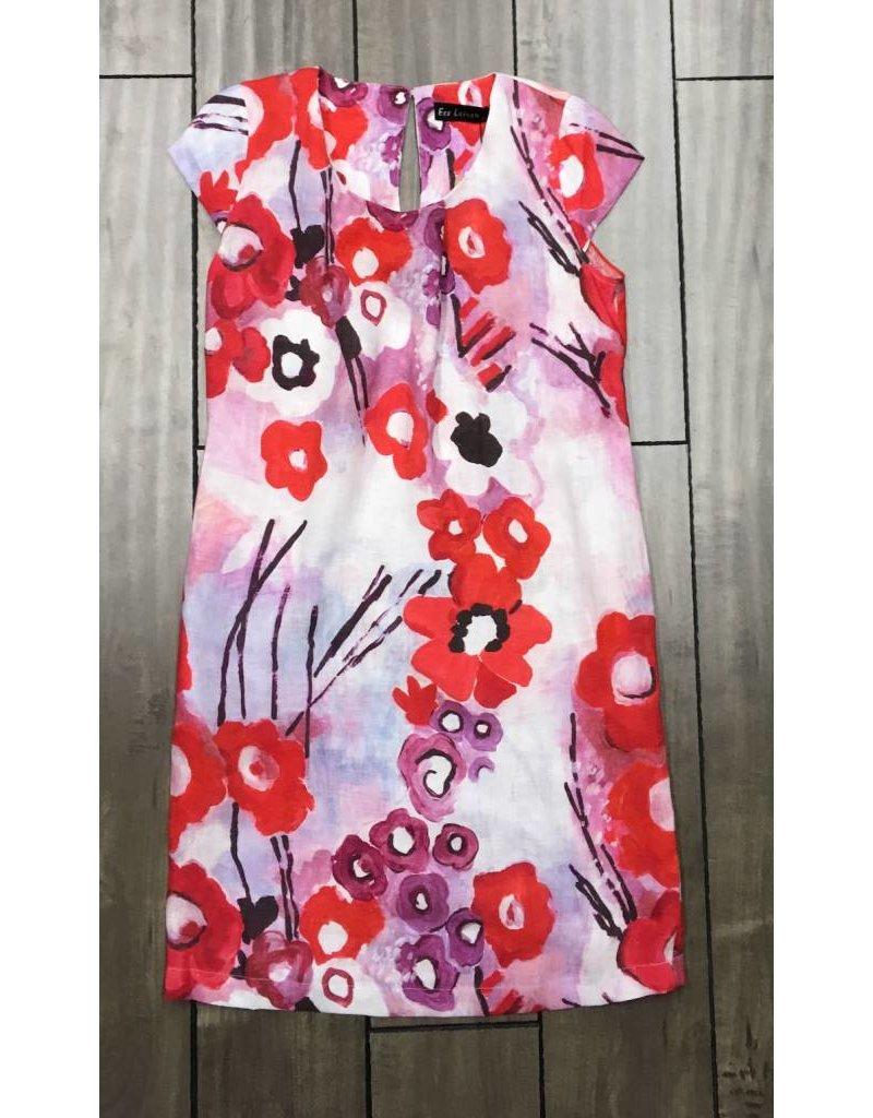 Eco Linen- Poppy Dress