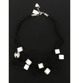 Sandrine Giraud Sandrine Giraud- White Cube Necklace
