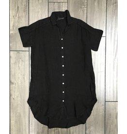 Cut Loose Cut Loose- Tunic Shirt|Blk