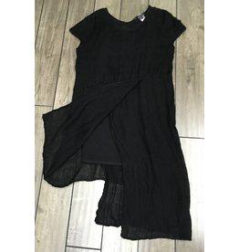 Kedziorek- Linen Dress | Blk