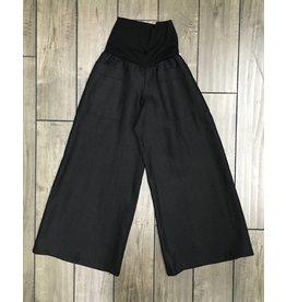 Lousje & Bean L&B- Emmy Linen Pants in Blk