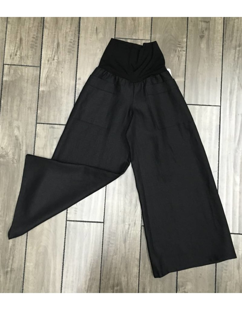 Lousje & Bean L&B- Emmy Linen Pants in Blk|XS only
