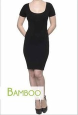 C'est Moi C'est Moi- Bamboo Dress Cap Sleeve