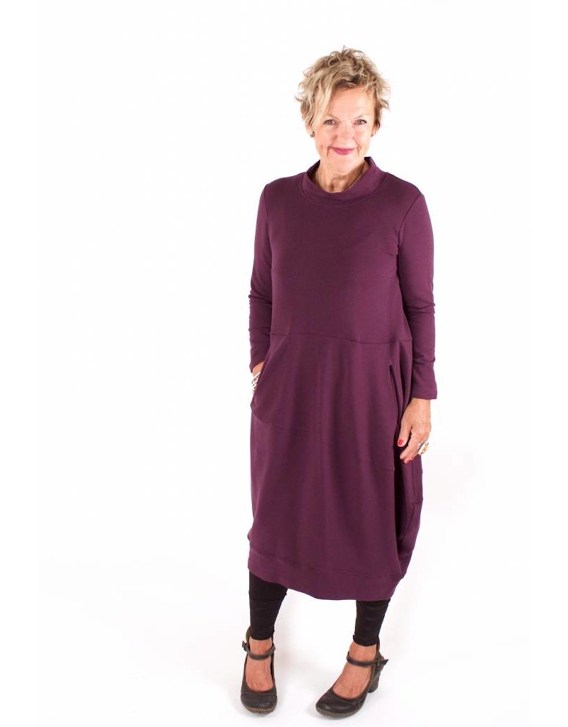 Lousje & Bean L&B- Juki Dress in Plum