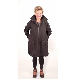 Lousje & Bean L&B- Cleo Coat in Blk Square