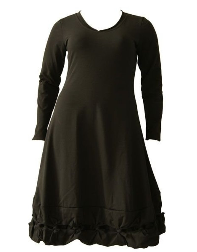Boris BORIS- Knot Dress in Blk