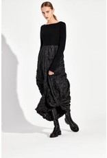 KEDZIOREK Kedziorek- Zipper Dress in Black