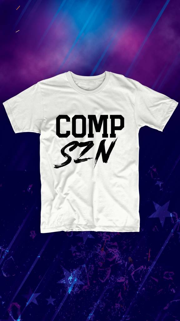 PRE ORDER: Comp Szn Tee - Ships on Nov. 28th