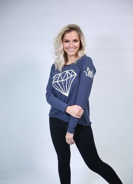 Long Sleeve Diamond Shirt