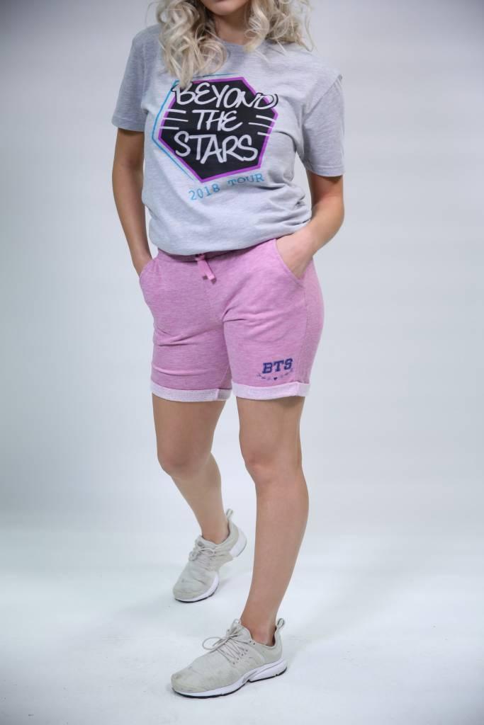 Pink BTS Sweat Shorts