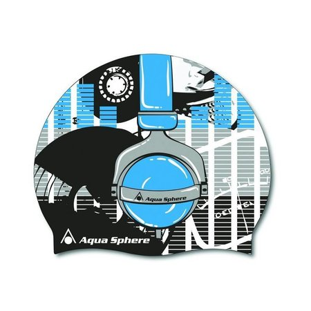 AquaSphere Aqua Sphere Graphic Swim Cap