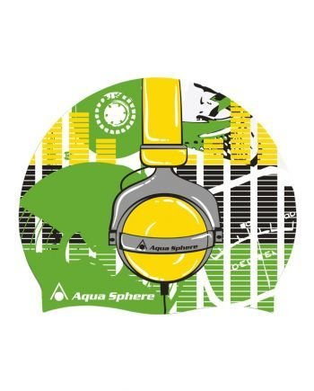 AquaSphere Aqua Sphere Graphic Swim Cap