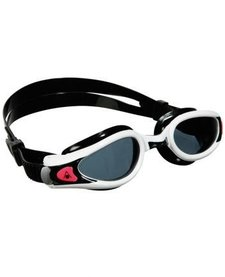 Aqua Sphere Kaiman Lady Goggle Regular Fit Smoke Lens Black/White