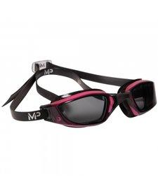 XCEED Goggle, smoke lens, Pink & Black