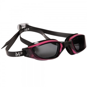 AquaSphere XCEED Goggle, smoke lens, Pink & Black