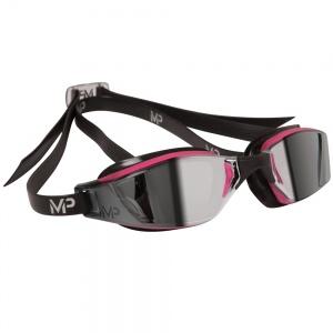 AquaSphere XCEED Goggle, mirrored lens, Pink & Black