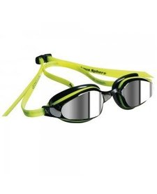 K-180 Goggle, mirrored lens, Yellow & Black