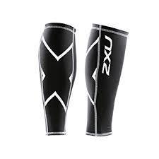 2XU North America Unisex Compression C Guard Black/Black XXS