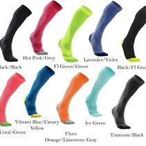 2XU Women's Compression Performance Run Socks WA2443e