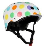 kiddimoto kiddimoto helmet - pastel dotty - small 2y-5y