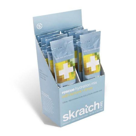 skratch LABS skratch LABS Rescue Hydration Mix, 8 Pack Singles, Lemons + Limes