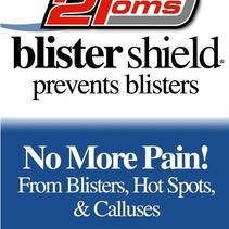 2TOMS blister shield powder - Box of 48 one use packets