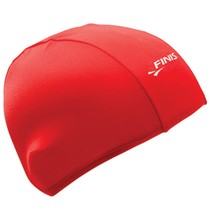 Finis Spandex Swim Cap - Solid Red
