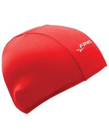Finis Spandex Swim Cap - Solid Red