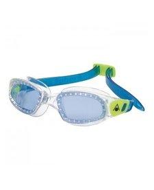 Aqua Shpere Kid Kameleon Goggles, Blue Lens, Clear/Blue
