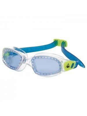 AquaSphere Aqua Shpere Kid Kameleon Goggles, Blue Lens, Clear/Blue