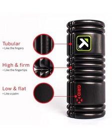 Trigger Point The Grid X Foam Roller: 13-inch Roller, Black