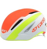 GIRO GIRO AIR ATTACK Cycling Helmet, M, Matte White/Lime/Flame 16 US